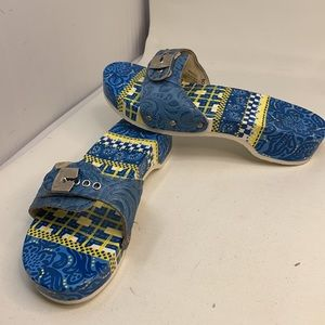 DR.SCHOLL'S SZ 8 PESCURA WOMEN'S HELL WOOD CLOGS